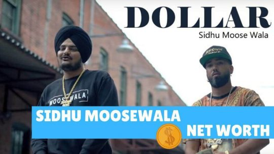 Sidhu Moosewala Net Worth