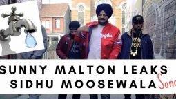 Sunny Malton leaks Sidhu Moosewala