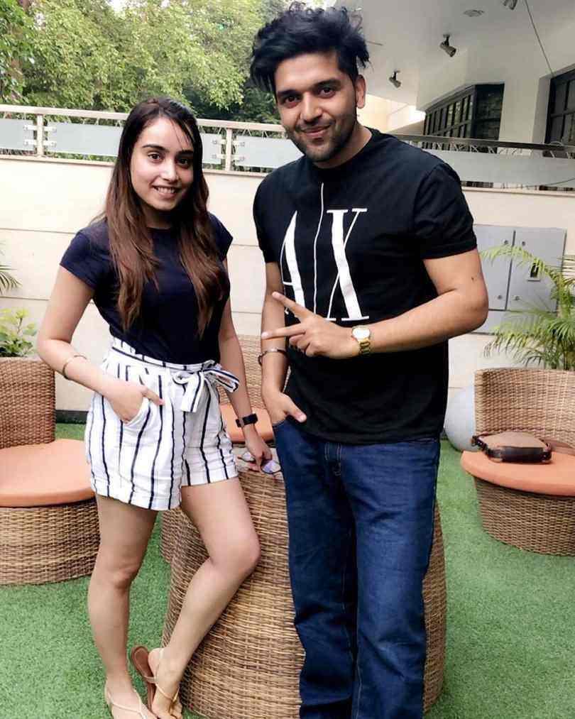Barbie Maan with Guru Randhawa