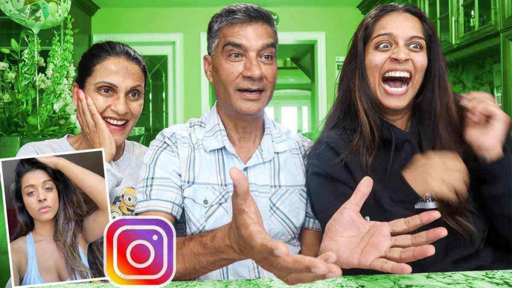 Lilly Singh Father and Mother
