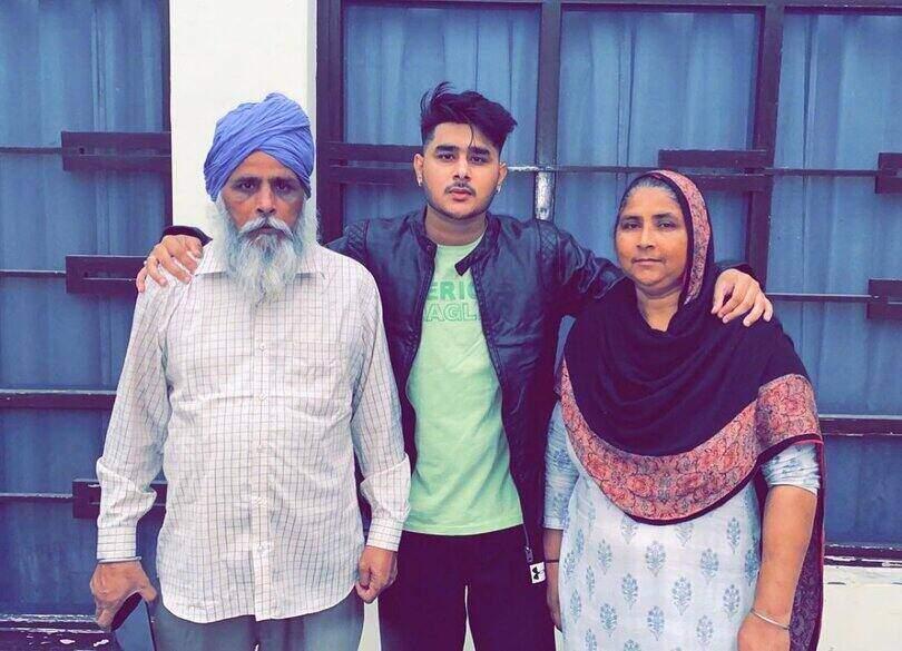 Laddi Chhajla Father and Mother