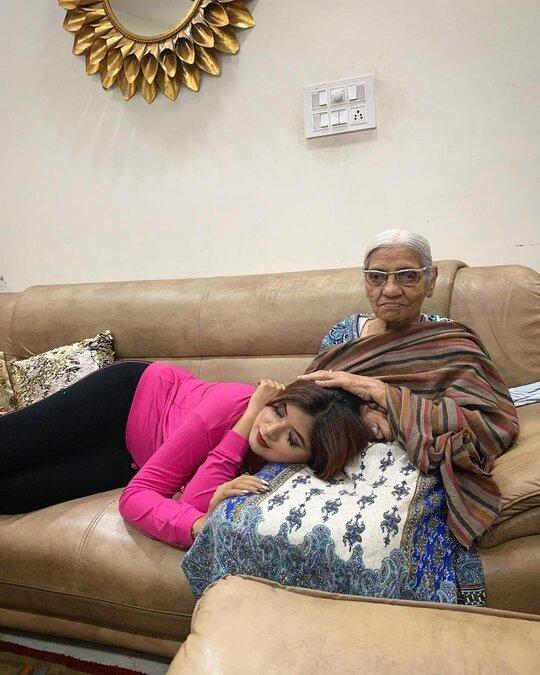 Shipra Goyal Grandmother